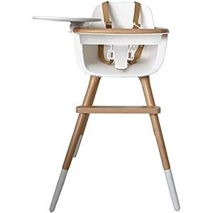 Enjoyable Amazon Com Bloom Fresco Chrome Contemporary Baby Chair Machost Co Dining Chair Design Ideas Machostcouk