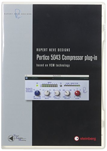 Steinberg RND Portico 5043 Compressor Audio Plug-in (Compressor In Plug Vst)