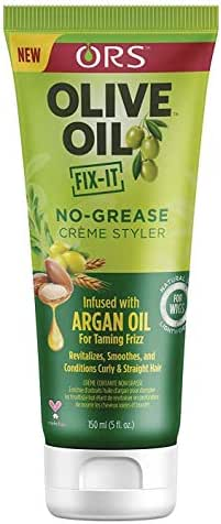 Ors Olive Oil Fix-It No-Grease Creme Styler 5 Ounce (150ml) (Pack of 3)