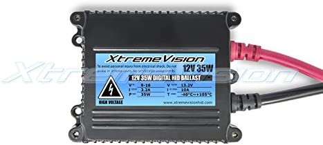 XtremeVision 35W Xenon HID Lights with Premium Slim Ballast 9004 15000K 2 Year Warranty 15K Pink