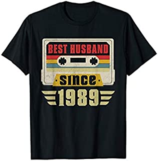 [Featured] Best Husband 1989 30th Wedding Anniversary Gift Idea in ALL styles | Size S - 5XL