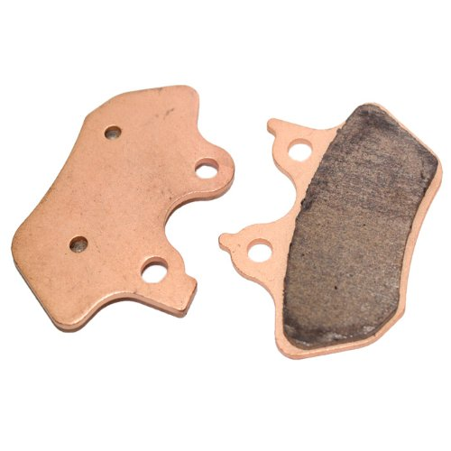 Caltric Rear Brake Pads Fits HARLEY DAVIDSON FXDL FXDLi Dyna Low Rider 1450cc 2000-2006 2004 Dyna Lowrider