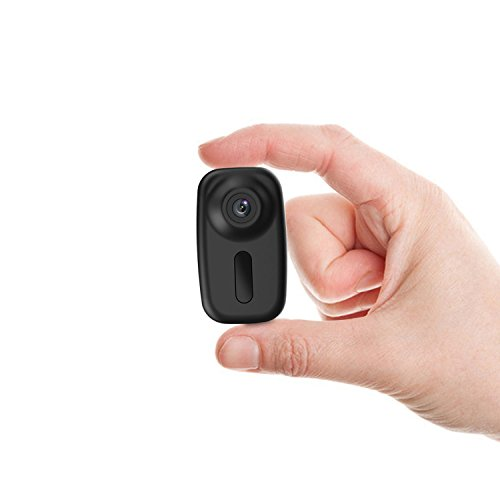 Mini Hidden Spy Camera Conbrov HD 1080P Security Body Camera with Night Vision and Sound-activated,Portable Video Recorder for Home and Office - No WiFi Function