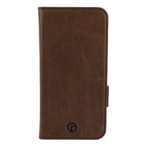 Redneck RNCS00040 Genuine Leder Wallet Folio Schutzhülle für Apple iPhone 6/6S Plus braun