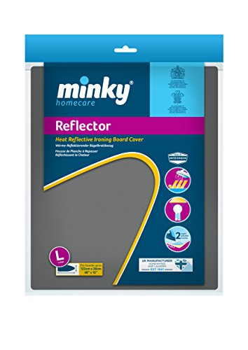 Minky Metallic Ironing Board Cover