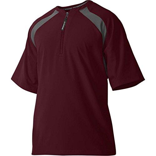 DeMarini Men's Game Day Batting Practice Jacket, Maroon, ()