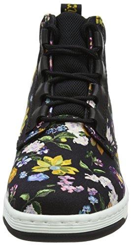 Femme Fine Black Black Telkes Darcy Martens Noir Floral Dr Canvas Bottes DF xOzYwP