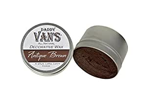 Daddy Van's All Natural Antique Brown Decorative Wax