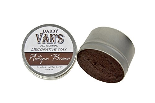 - Daddy Van's All Natural Antique Brown Decorative Wax
