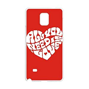 Samsung Galaxy Note 4 Cell Phone Case White John Lennon OOE Cell Phone Case Sports Plastic