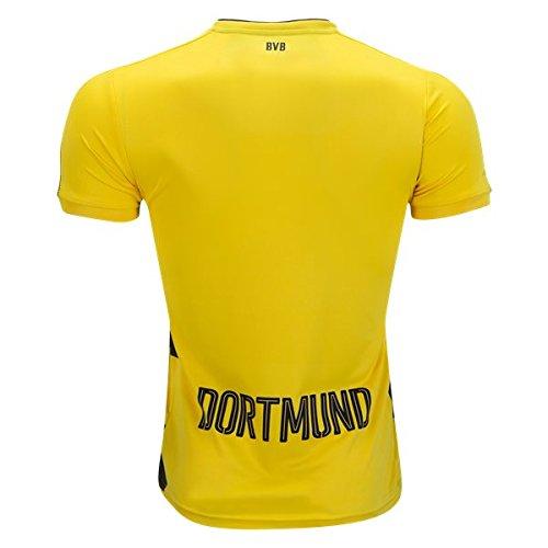 Borussia Dortmund 17/18 Home Soccer Jersey Men's Color yellow Size - Shirt Dortmund Borussia