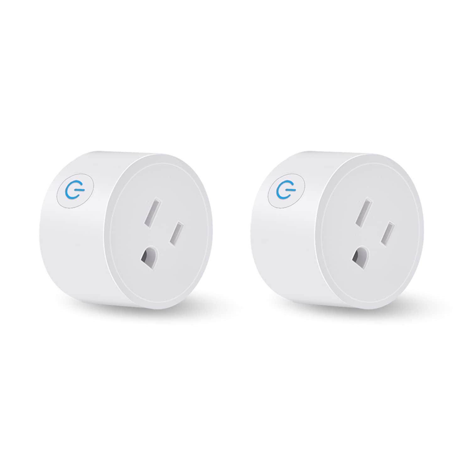 DoHome Smart Plug Smart WiFi Outlet Compatible with Amazon Alexa and Google Assistant and Apple Homekit Remote Control Smart Socket with Timer Function No Hub Required ROHS and FCC Certified