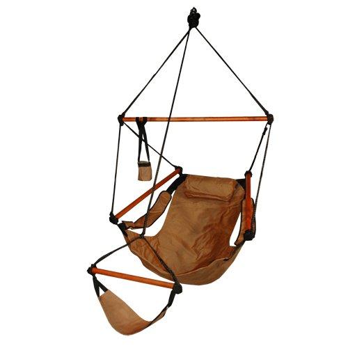ock Air Chair, Wooden Dowels, Tan ()