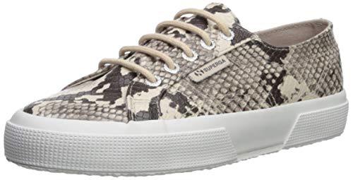 - Superga Women's 2750 SYNTHETICSNAKEW Sneaker, Taupe Snake, 41.5 M EU (10 US)