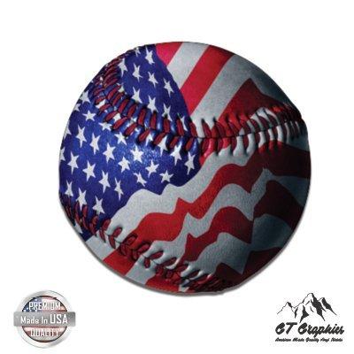 - American Baseball American Flag Patriotic - 3