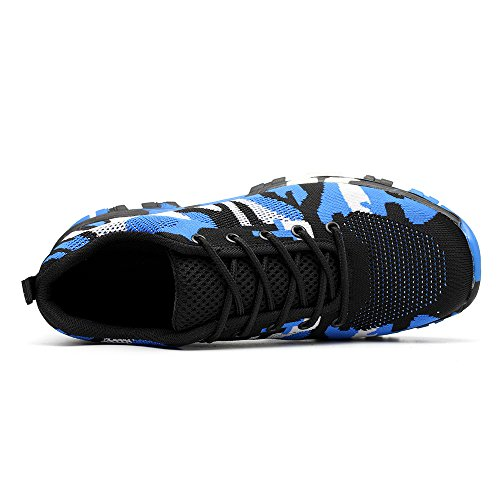 Shoes Proof Construction Industrial Footwear Safety Camouflage Puncture Blue Work Mens TRUPO Toe Steel zAOtp