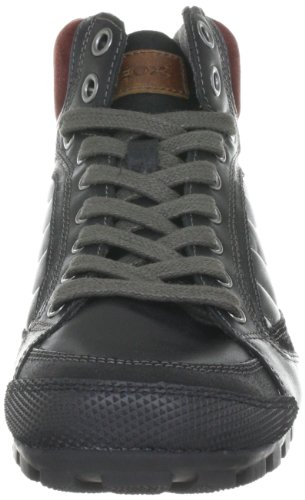 Dunkelrot Uomo C0260 für Boots Geox U24X2A04323C0260 Schwarz Herren Roccia A0vxOqzwC