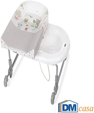 Cambiador y ba/ñera para beb/é 594 multicolor Brevi
