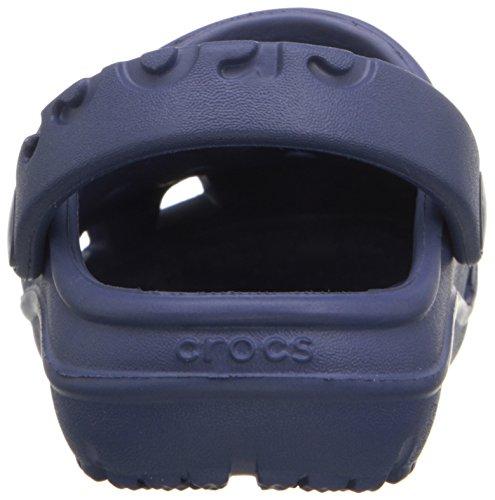 crocs Unisex-Kinder Hilo Clog Kids, Navy, 37 EU Blau (Bijou Blue)