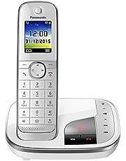 Panasonic Familietelefoon, 1 telefoon + antwoordapparaat, wit