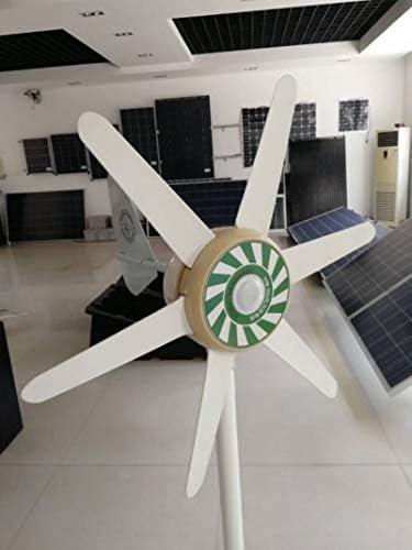 SYN-GUGAI Windturbine 300W Hybrid Windgenerator 12V / 24V Hybrid-Controller Wind Turbine Generator 3 Blades Wind-Turbine-Generator (300 W),12V