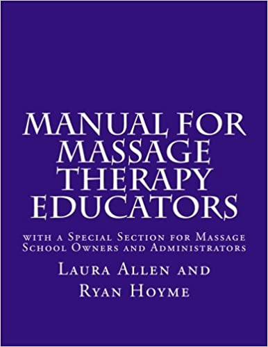 Massage Therapy Books For School