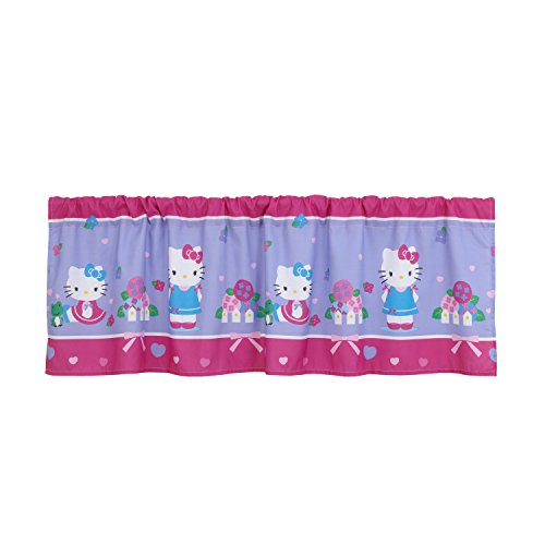Sanrio Hello Kitty Springtime Friends Window Valance, Pink