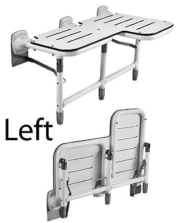 Amazon.com: Asiento plegable con patas para ducha para ...
