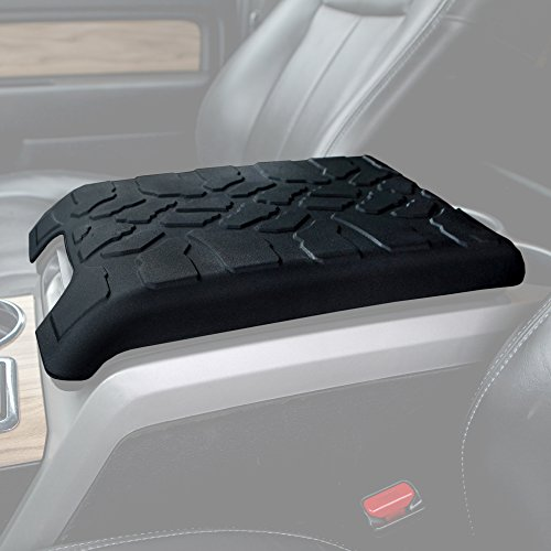 2009-2014 Ford F150 Tire Tread ArmPad - Center Console Cover - Armrest - Center Information Product