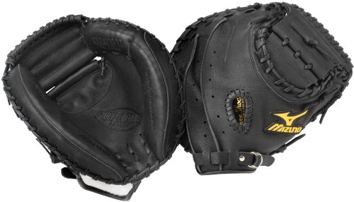 Mizuno Leather Catchers Glove - 9