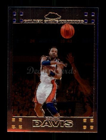 Warriors Baron Davis (2007 Topps Chrome # 71 Baron Davis Golden State Warriors (Basketball Card) Dean's Cards 8 - NM/MT Warriors)