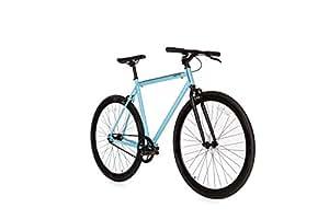 Moma Bikes Bicicleta Fixie Urbana, Fixie AzulFixed Gear & Single Speed (Varias Tallas)