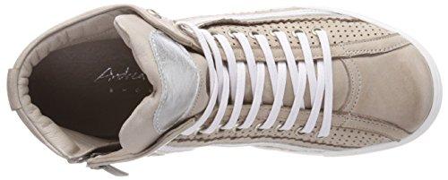 Donna Conti Silber Alto 0344505 Sneaker Andrea Collo A 418 silbergrau Grigio 7x1qxwH