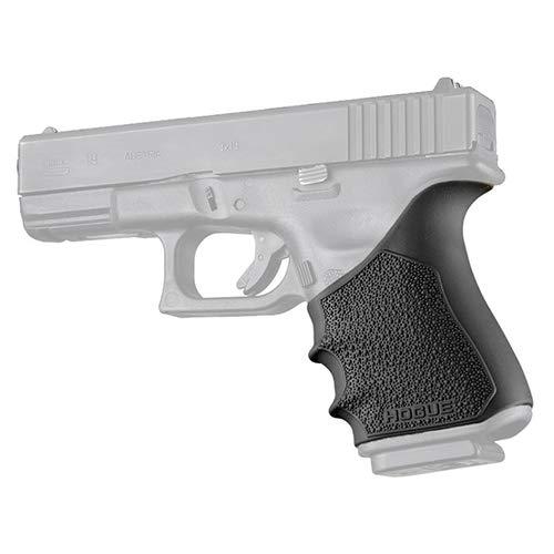 Hogue 17040 HandAll Beavertail Grip Sleeve, Glock 19 Gen 3-4, Black (Best Grip For Glock 19)
