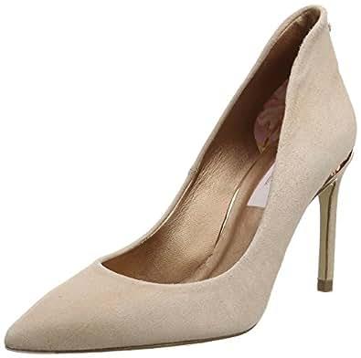 Ted Baker Women's Savio 2 Closed-Toe Heels, Off-White, 5 UK 38 EU,917569