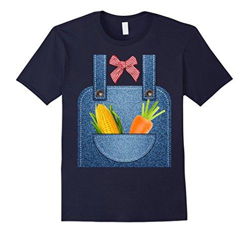 Mens Hottest Farmer Halloween Costume Ever T-shirt XL Navy