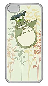 Creative GOOD 5C Case, iPhone 5C Case, Personalized Hard PC Clear Shoockproof Protective Case Cover for New Apple iPhone 5C - Totoro My Neighbor Totoro