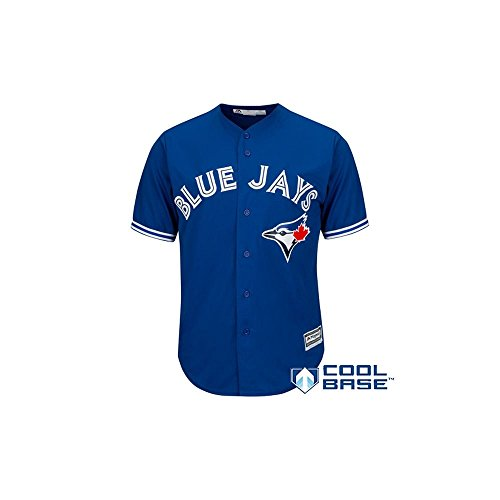 Toronto Blue Jays Alternate Blue Cool Base Jersey (Large)