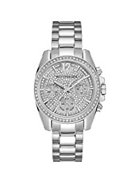 Wittnauer WN4077 Ladies Lucy Strainless Steel Silver Chronograph Watch