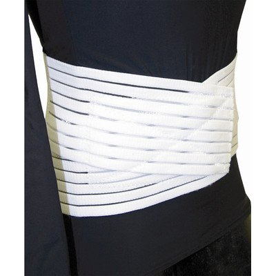 Low Contour Lumbar Sacral Support in White Size: Low Contour Lumbar Sacral Suppport XX Large