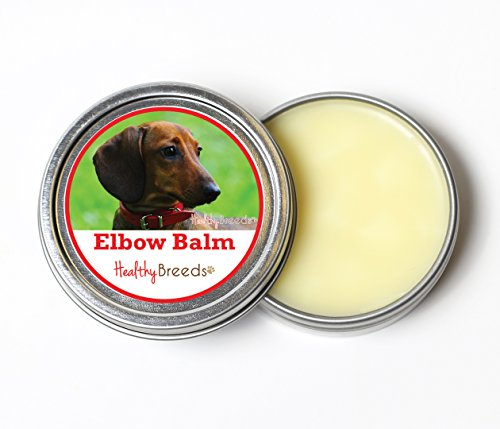 Healthy Breeds Dog Elbow Pad Balm for Dachshund, Brown for sale  Delivered anywhere in Canada