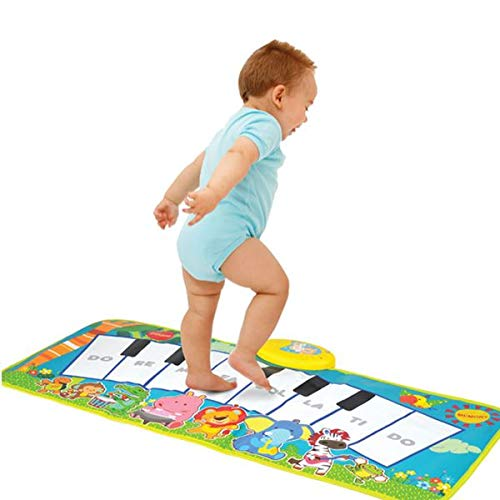 Piano Keyboard Dancing Musical Mat Electronic for Kids Game Touch Sensitive +3 by Zippy Mat (Image #2)