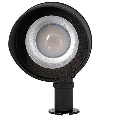 Low-Voltage LED (75W halogen equivalent) Outdoor Black Flood Light
