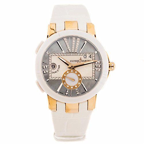 Ulysse-Nardin-Executive-Dual-Time-automatic-self-wind-womens-Watch-246-10392-Certified-Pre-owned