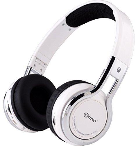 Contixo Foldable Bluetooth Headphone Microphone