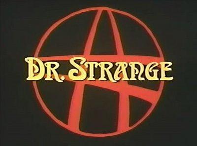 Doctor Strange 8mm inoxydable Boucles d'oreilles en acier