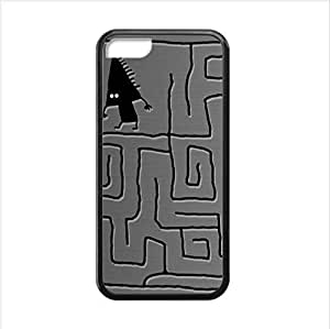 Best seller Personalized Design Case - Maze Apple iphone 5C TPU (Laser Technology) Case, Cell Phone Cover