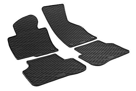Für Opel Meriva B 2010 Gummi Fußmatten Hohe 3D Gummimatten Automatten