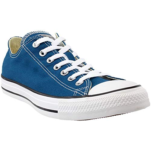 CONVERSE Chuck Taylor All Star Lo Ox Blue Lagoon Sneakers 153867F Men Shoes (8 Men/ 10 Women) High Top