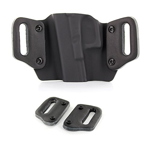 (Outlaw Holsters Optional Leather Belt Loops, Pair, For 1.75